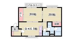 敷金0円 保証人不要プラン有り 閑静な住宅地です  203の間取