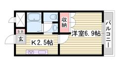 浴室乾燥機付き システムキッチン 照明器具付き 駅まで徒歩5分 207の間取