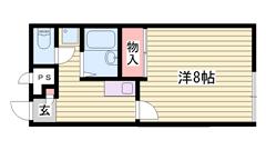 築浅物件で清潔感あるデザインです!閑静な住宅街で住みやすい地域です! 103の間取