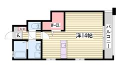 亀山駅まで徒歩圏内 ペットOK 姫路南ランプ近く 101の間取