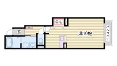 敷礼0円プランでラクラク入居可能です 103の間取