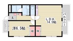 駐車場代一台分・共益費込み うれしい追い焚き機能付き キッチンにもご注目ください 403の間取