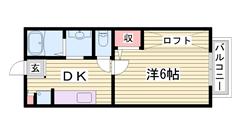 スーパーもTSUTAYAもコンビニも徒歩圏内☆ 室内改装済でキレイですよ♪ 202の間取