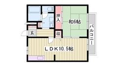 駐車場1台込み☆ 近くにお店が多い地域ですよ(#^.^#) 201の間取