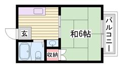 姫路駅・京口駅近くですよ☆ 人気のエリア!! 近くにコンビニが有りますよ♪♪ 205の間取
