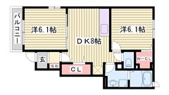 H27年4月完成物件☆周辺施設充実♪築浅ハイツで新生活(^O^) 101の間取