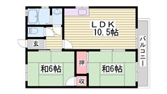 エアコン システムキッチン ウォシュレット付き 敷地内駐車場完備 4-1の間取