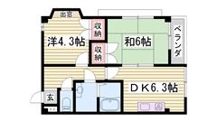 京口駅徒歩圏内です♪♪ 東光中学校近くです☆ 202の間取