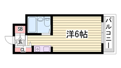 都市ガス仕様で経済的♪♪東加古川駅徒歩スグ! 401の間取