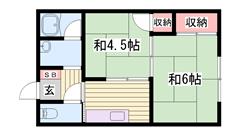 敷金0円物件です☆ 駅まで徒歩圏内!! 家賃お手頃ですよ!! 101の間取