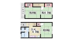 敷・礼0円です!!JR土山駅徒歩圏内で便利です!! 1-105の間取