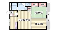 買い物施設が近隣で大変便利 2台目駐車場も完備 収納多数 101の間取