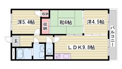 山陽電鉄亀山駅徒歩圏内です☆ コンビニ・スーパー近くにあります♪♪ 109の間取