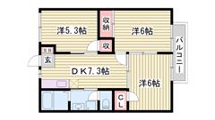 敷地内に駐車場完備 大手ハウスメーカー施工 103の間取