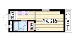 東加古川駅まで徒歩10分!生活環境良好♪ 301の間取