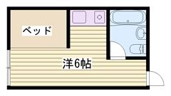 学生割引で家賃2000円ダウンOK 駐車場完備です 19の間取