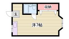 家電・家具無料レンタル☆ 都市ガス仕様で経済的!! 学生さんにおすすめです♪♪ 210の間取