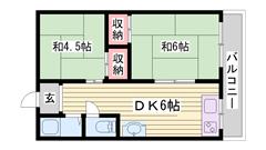 浜の宮駅から徒歩2分!!南東向き2階の角部屋です☆! 201の間取