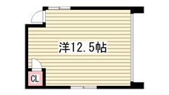 シェアハウス姫路元町 201の間取