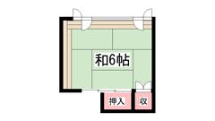 シェアハウス姫路元町 301の間取