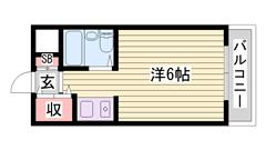 加古川駅まで徒歩圏内!これは一押し♪ 604の間取