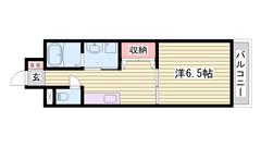 敷金・礼金0円!! 人気のオール電化仕様☆ 姫路駅まで徒歩圏内ですよ♪♪ 501の間取