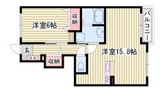 敷金0円物件 追い焚き機能付き 浴室乾燥機付き 人気の対面キッチン 104の間取