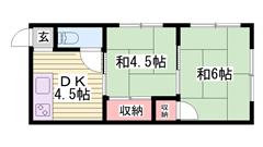 姫路駅まで近いです!!お値段いい感じです!! 2の間取