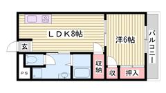 利便性の良いところでマンションタイプお探しの方へオススメです☆ 502の間取