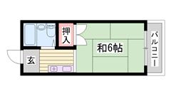 安心のカードキーシステム コンビニ・病院近く生活便利な立地です 202の間取