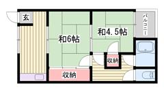 敷金・礼金0円物件☆ 嬉しい都市ガス仕様で経済的ですよ♪♪ 9の間取