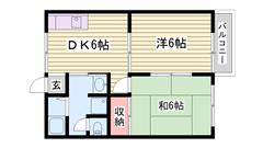 室内リフォーム済みです!亀山駅徒歩5分です! 101の間取