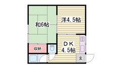 ガスコンロ付きです☆ 敷金・礼金0円プラン有りますよ♪♪ 6の間取