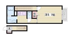 エアコン・浴室乾燥付 追い炊き機能付き 人気のシステムキッチン☆ 202の間取