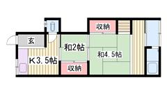 姫路駅徒歩圏内!!商業施設近くです!! 2の間取