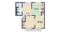 リビング12帖で広いですよ♪ 内装キレイです☆ 敷金・礼金0円プラン有ります!! 102の間取