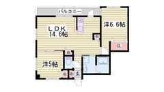 姫路駅徒歩4分で分譲貸マンション☆設備文句なし♪ 507の間取