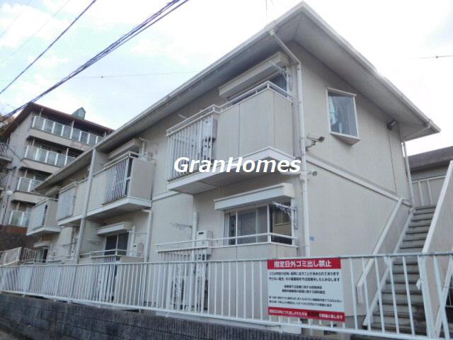 物件番号: 1115169863  姫路市北平野4丁目 1DK ハイツ 外観画像