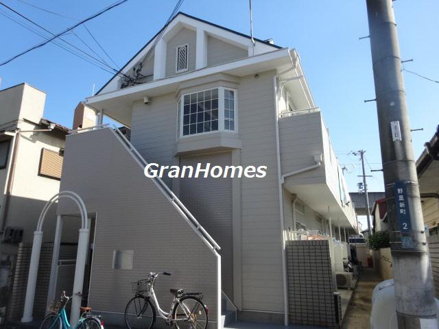 物件番号: 1115186961  姫路市野里新町 1K ハイツ 外観画像