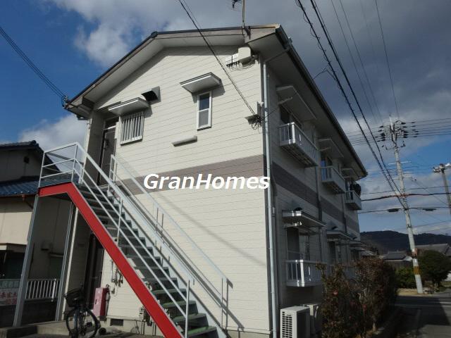 物件番号: 1115114074  姫路市書写 1K ハイツ 外観画像