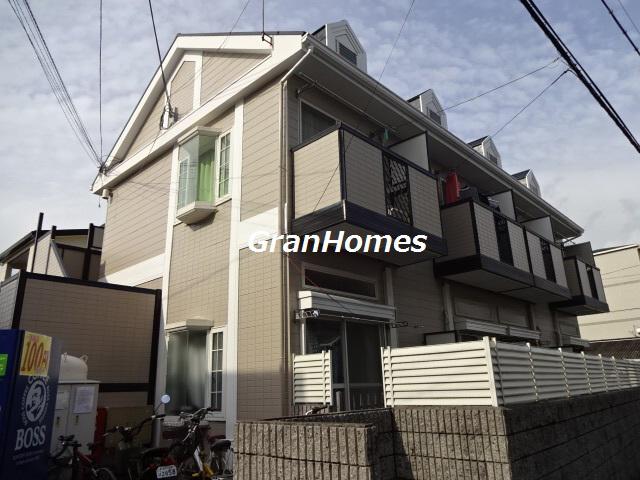 物件番号: 1115120803  姫路市西八代町 1K ハイツ 外観画像